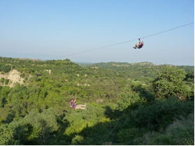 Adventure Sports Zipline in Chandigarh