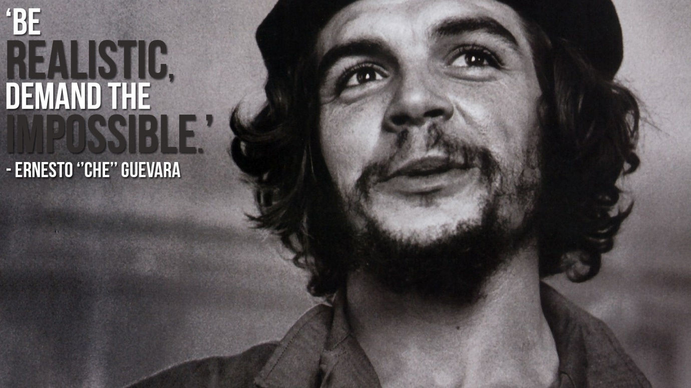 Revolutionaries Che Guevara