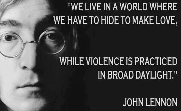 Revolutionaries John Lennon