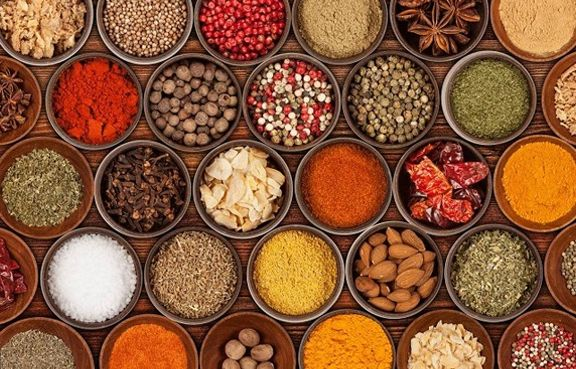 Spices of India traded on the spice route