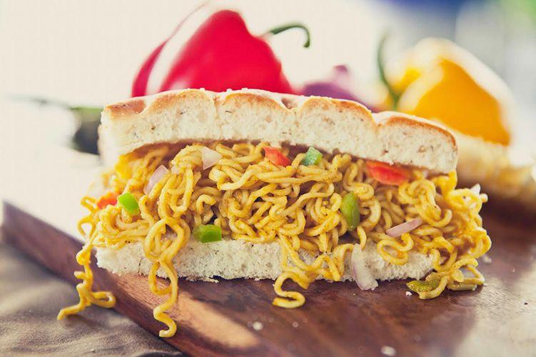 Maggi Sandwich