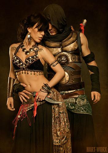 arabian couple