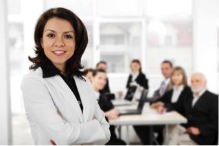 Women employees in senior roles