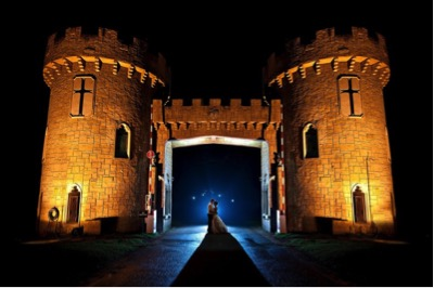 castle wedding - exotic wedding venues