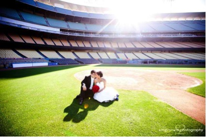 stadium wedding - exotic wedding venues