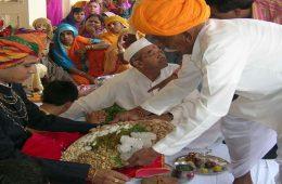 Husband receiving dowry