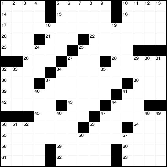 Crosswords 1