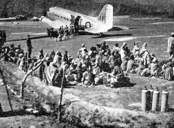 Dakotas_in_Poonch_1947 Kashmir