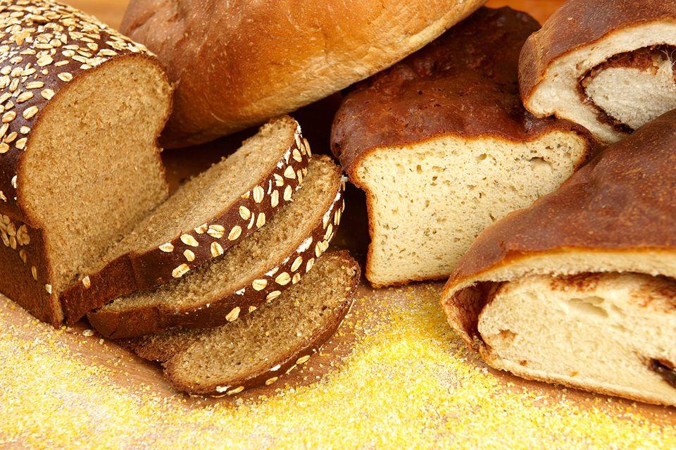 bread calories