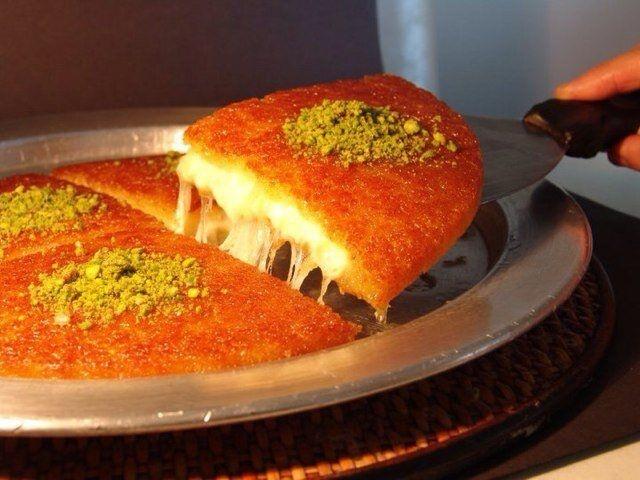 kunafeh arabic cuisine