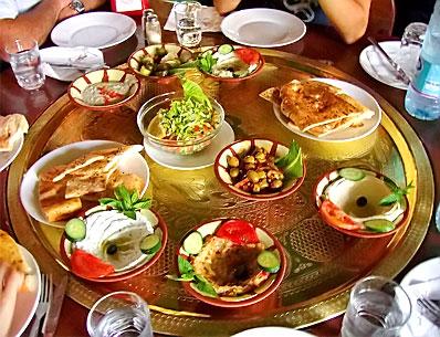 mezze arabic cuisine