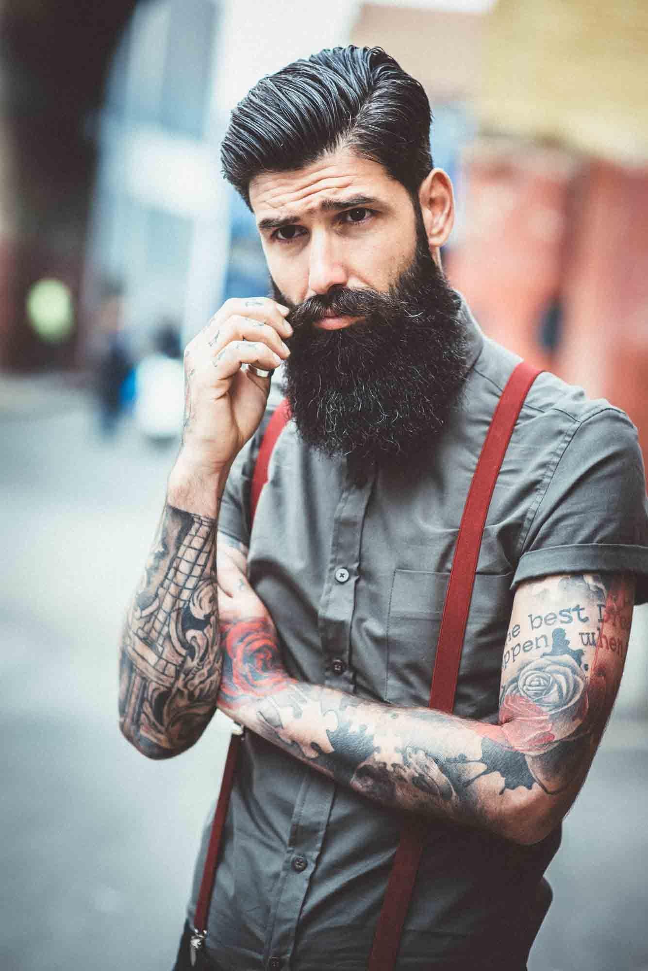 train your beard