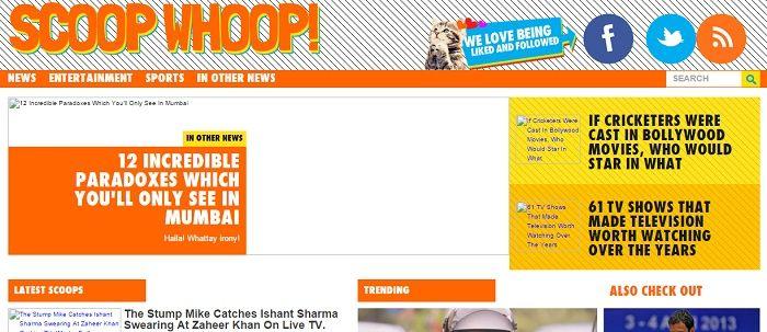 scoopwhoop content websites