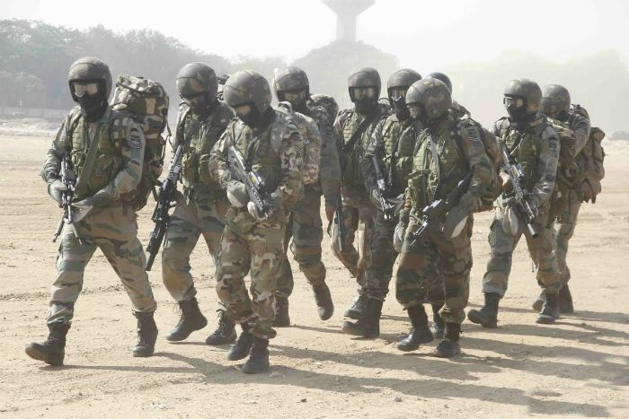 garud-commando-force - division of Indian special forces