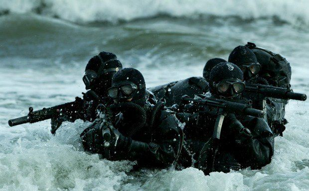 Marcos - division of Indian special forces