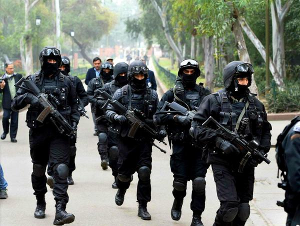 NSG or Black Cats Division of the Indian Special Forces