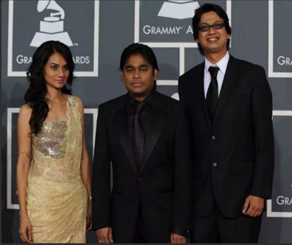Tanvi Shah at Grammy 2010