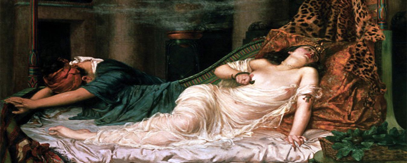 Cleopatra: A Seductress, Lover & Charmer