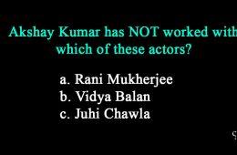 Random Bollywood Quiz