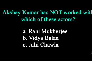 Random Bollywood Quiz