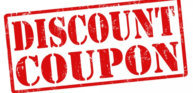 customize discount coupons