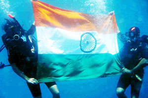 beginner scuba diving