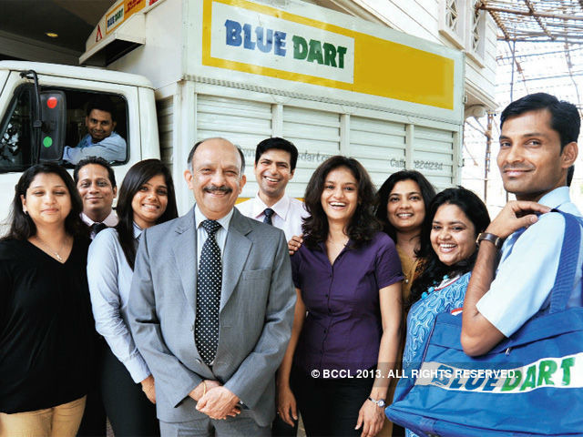 How Blue Dart Redefined Indian Express Courier Business